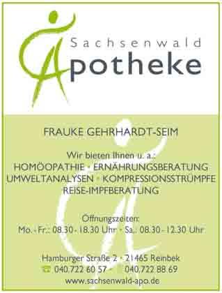Hartmann-Marktplatz Sachsenwald Apotheke Hartmann-Plan