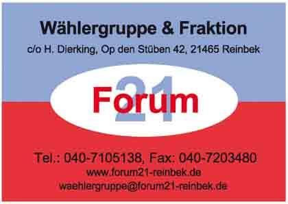 Hartmann-Marktplatz Forum 21 - Heinrich Dierking Hartmann-Plan