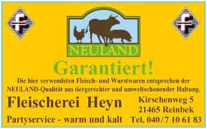 Hartmann-Marktplatz Fleischerei und Partyservice - Olaf Heyn Hartmann-Plan