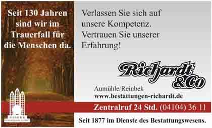 Hartmann-Marktplatz Bestattungsinstitut Richardt & Co. Hartmann-Plan