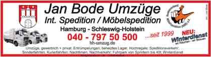 Hartmann-Marktplatz Jan Bode Umzüge- Int. Spedition/Möbelspedition Hartmann-Plan