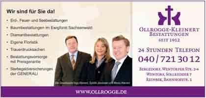 Hartmann-Marktplatz Ollrogge-Kleinert - Bestattungen GmbH Hartmann-Plan