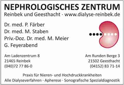 Hartmann-Marktplatz Gemeinschaftspraxis in Reinbek- Fachärzte für Innere Medizin und Nephrologie Hartmann-Plan