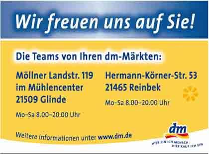 Hartmann-Marktplatz dm-drogerie - markt GmbH + Co. KG Hartmann-Plan