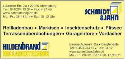 Hartmann-Marktplatz Schmidt & Jahn - Bauelemente GmbH Hartmann-Plan